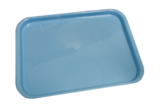 Thumb autoclavable plastic trays atop