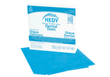 Thumb latex dental dam 6x6 thin blue 310db 6t new