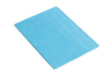 Thumb dental bib blue
